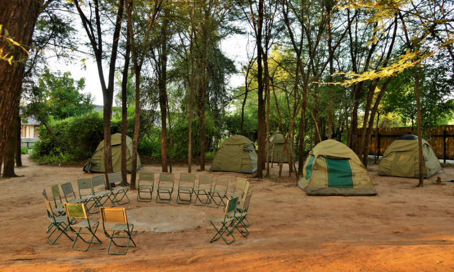 Thebe River Safaris - Camping Accommodation