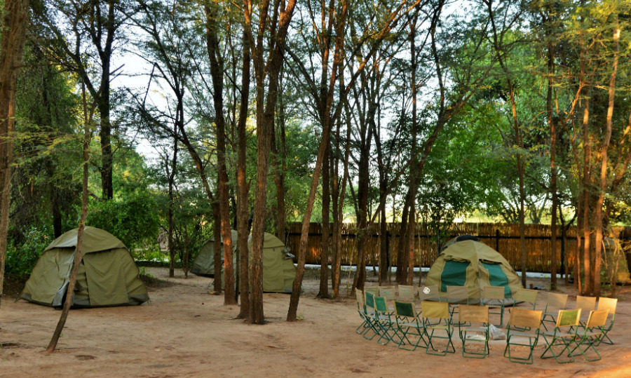 Thebe River Safaris - Camp Accommodation