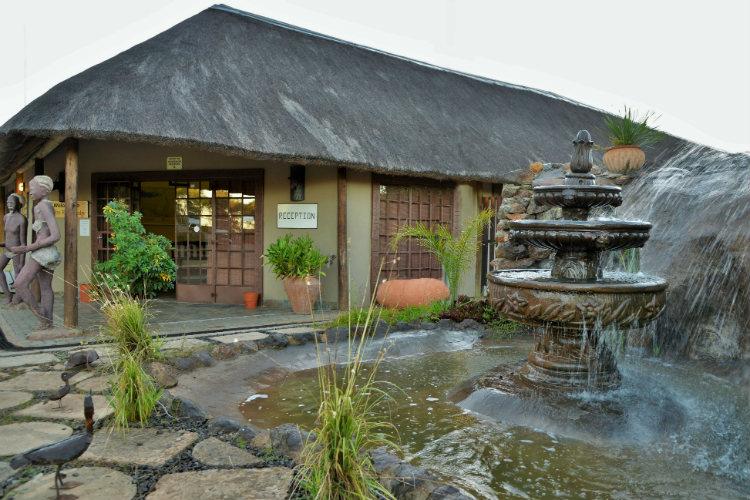 Thebe River Safaris Reception